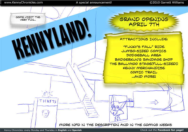 Kennyland Theme Park OPEN SOON!