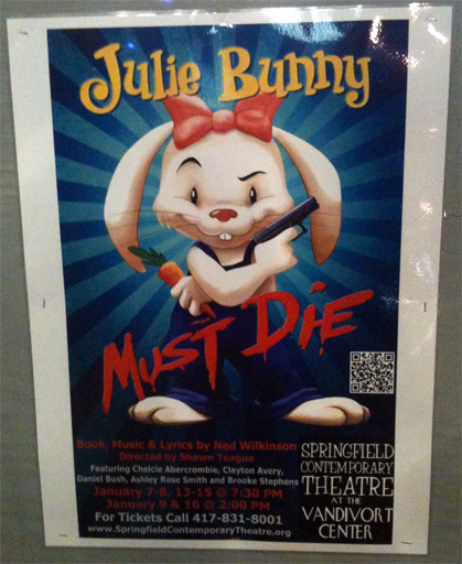 Julie Bunny Must Die