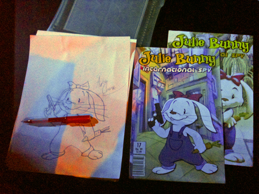 Julie Bunny Must Die comics