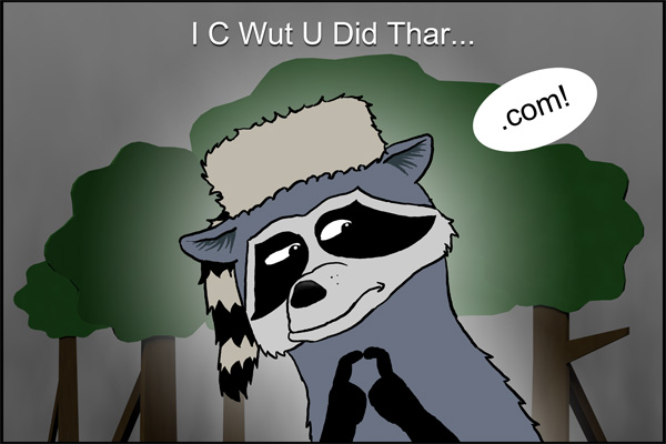I C Wut U Did Thar!